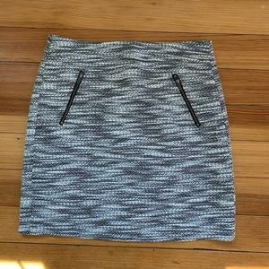 LOFT Tweed Mini Skirt